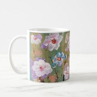 春の花のコーヒー・マグ コーヒーマグカップ