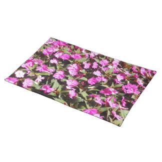 春の花のランチョンマット ランチョンマット