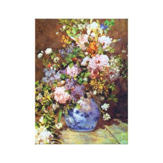 春の花のルノアールのファインアート キャンバスプリント