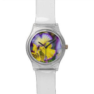春の花の腕時計 腕時計