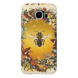 春の花の蜂蜜の蜂/養蜂家の養蜂 SAMSUNG GALAXY S6 ケース
