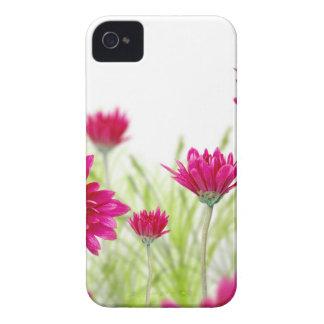 春の花のIphone赤く敏感な4Sの箱 Case-Mate iPhone 4 ケース