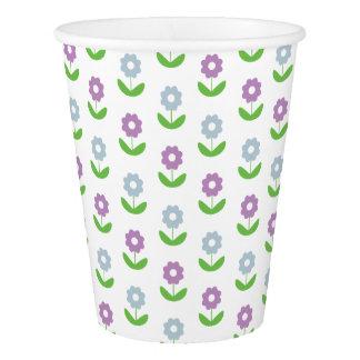 春の花パターン紙コップ 紙コップ