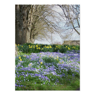 春の花ポスター ポスター