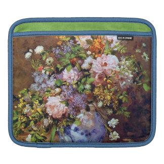 春の花束の印象主義のファインアート iPadスリーブ
