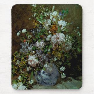 春の花束 マウスパッド