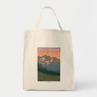 春の花-イエローストーン国立公園 トートバッグ