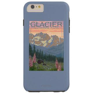 春の花-グレーシャー国立公園、MT TOUGH iPhone 6 PLUS ケース