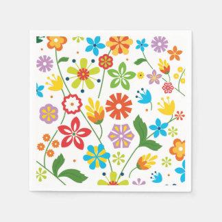 春の花 スタンダードカクテルナプキン