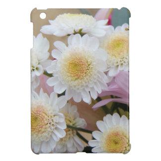 春の花、白いデイジーのミイラ iPad MINIカバー
