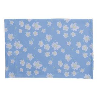 春の花(紫色) 枕カバー