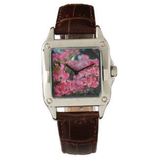 春の花 腕時計