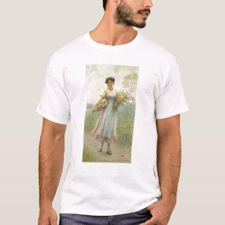 春の花 Tシャツ