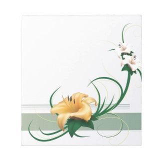 春の芳香 ノートパッド