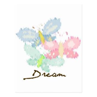 春の蝶夢 ポストカード