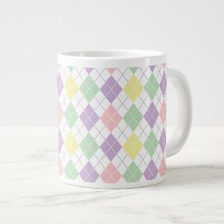 春の道化師パターン ジャンボコーヒーマグカップ