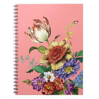 春の野生花 ノートブック