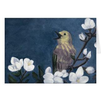 春の鳥 カード