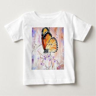 春の(昆虫)オオカバマダラ、モナーク ベビーTシャツ