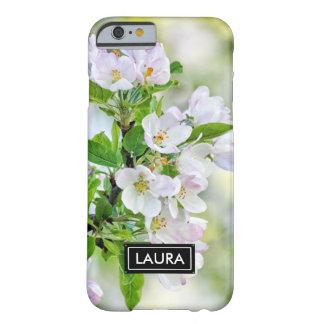春のAppleのフェミニンな花、かわいい花のガーリー Barely There iPhone 6 ケース