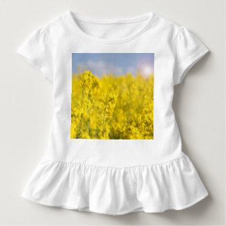 春のcanola分野 トドラーTシャツ
