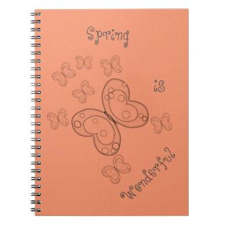 春はすばらしいです ノートブック