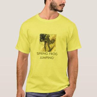 「春カエルJUMPING Tシャツ