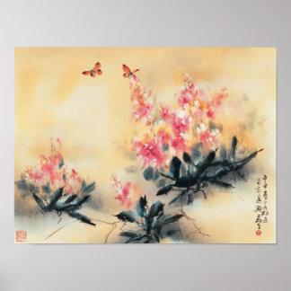 春ポスターの蝶 ポスター