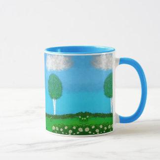 春時間場面 マグカップ