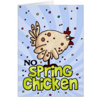 春鶏無し カード