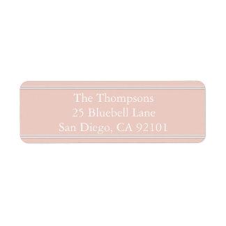 春2017年のデザイナーは淡いピンクのミズキを着色します ラベル