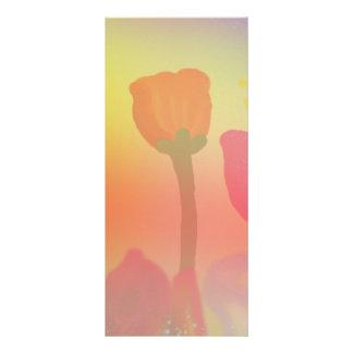 """春4"""" x 9"""" Rackcard 10.2cm X 22.9cm ラックカード"""