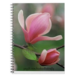 春6.5 x 8.75の陰ノート ノートブック
