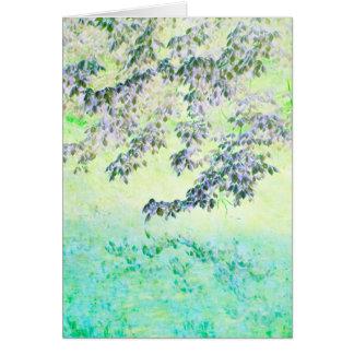 """""""春"""" -カードによって触れられて カード"""