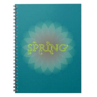 春 ノートブック