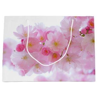 春-桜 ラージペーパーバッグ