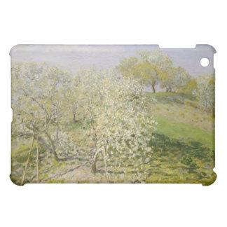 春(開花の果樹)クロード・モネ iPad MINIケース