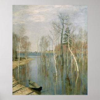 春、高水1897年 ポスター