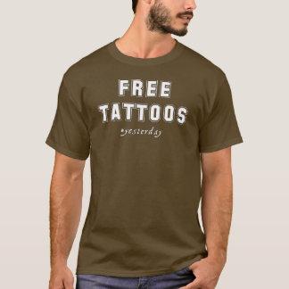 昨日入れ墨 Tシャツ