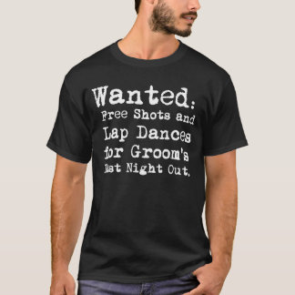 昨晩新郎のバチュラーパーティのTシャツ Tシャツ