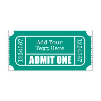 是認して下さい1つ-映画チケット セルフインキングスタンプ
