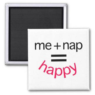 昼寝と私は幸せに匹敵します マグネット