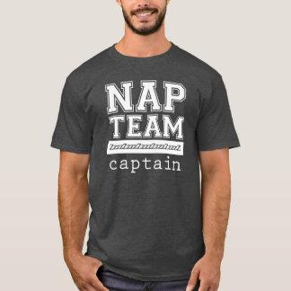 昼寝のチーム大尉T-Shirtかスエットシャツ Tシャツ