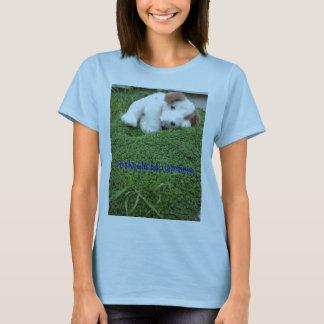 昼寝の時間か。 Tシャツ