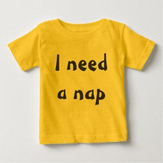 昼寝の時間 ベビーTシャツ