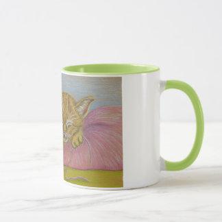 昼寝の時間 マグカップ