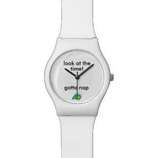 昼寝の時間 腕時計