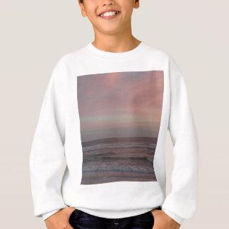 昼寝の鍵のビーチの日没 スウェットシャツ