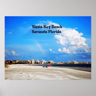 昼寝の鍵のビーチ ポスター