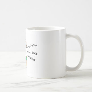 昼食を共にすることのコーヒー・マグを (LBM)食べる束ねること コーヒーマグカップ